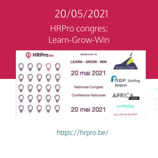 HRPRO Nationaal Congres: Learn – Grow – Win