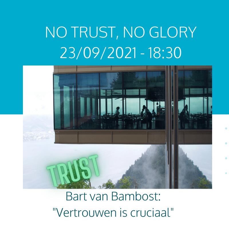 no Trust, no Glory: de cruciale impact van vertrouwen op prestaties